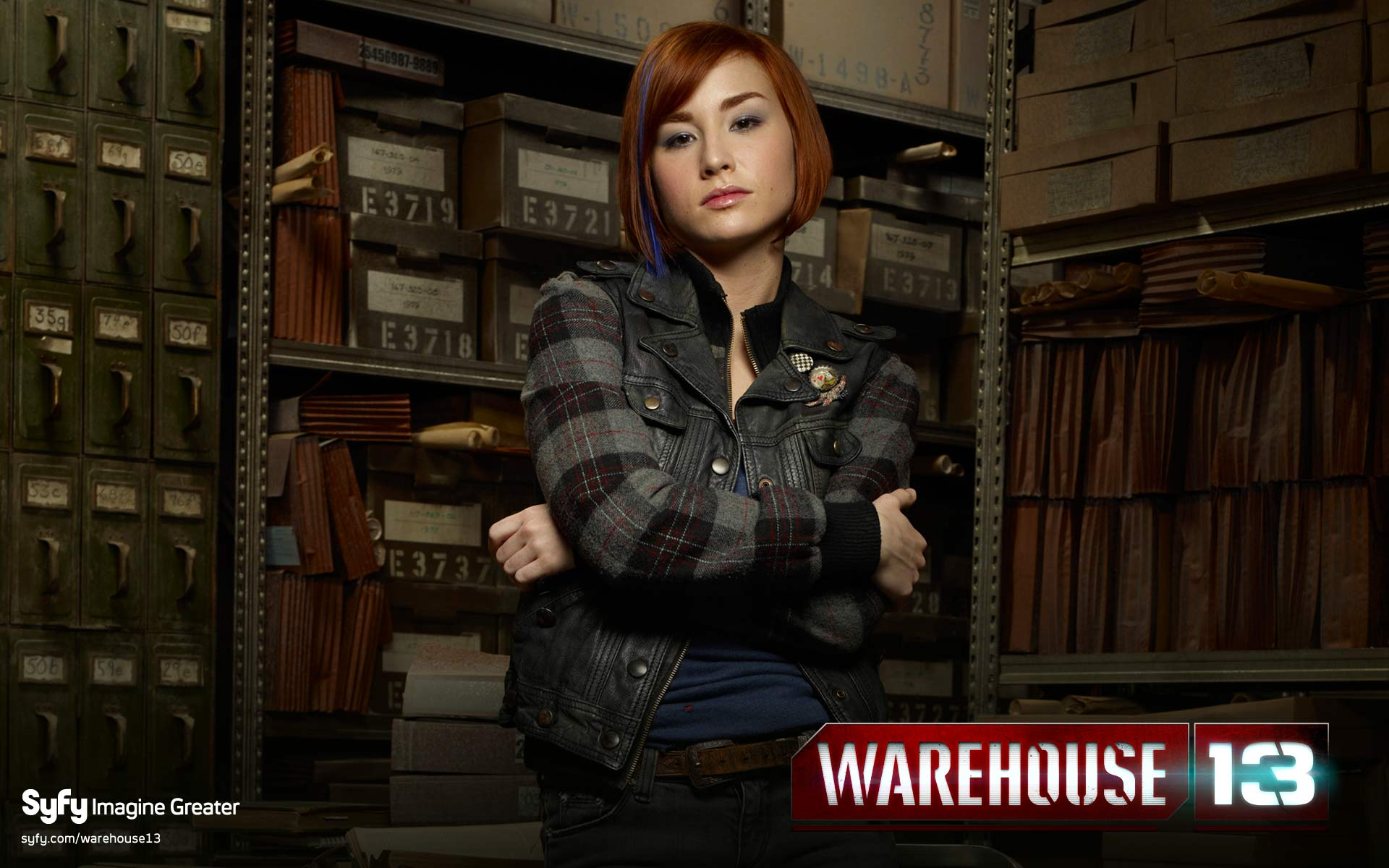 warehouse 13 desktop wallpaper crimson tear
